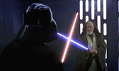 225 - Darth Vader Obi-Wan 168x100
