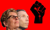 Kathleen Wynne Patrick Brown Fascism