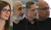 Lindsay Shepherd, Gad Saad, David Haskell, Rick Mehta