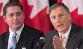 Scheer and Bernier
